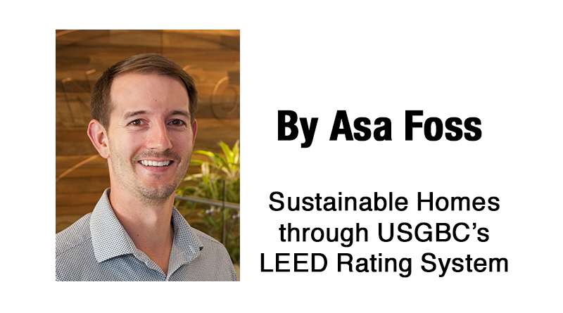 Sustainable homes through usgbc s leed rating system for Leed for homes rating system