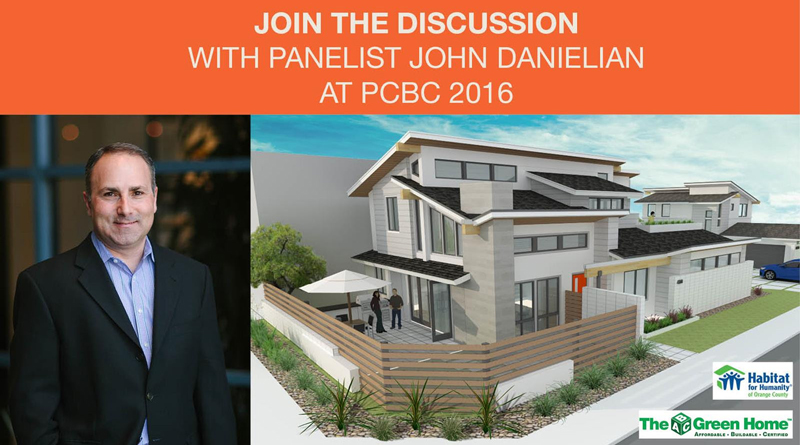 John Danielian, AIA, LEED AP Leads Panel on ABC Green Home 3.0