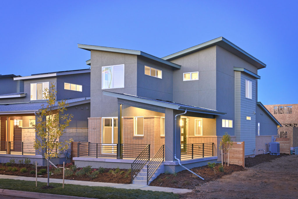 Green builder profile thrive home builders eco luxury for Thrive homes denver